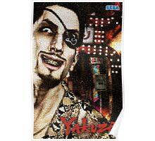 Majima Goro - Mosaic Poster