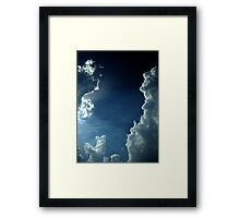 He Brightens My Life Framed Print