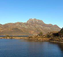 Slioch and Loch Maree Wester Ross Scotland by derekbeattie