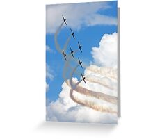 Breitling Jet Team Greeting Card