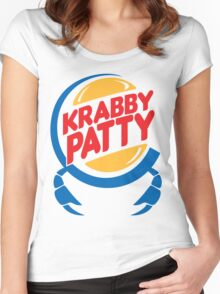 Krabby Patty Women's Fitted Scoop T-Shirt