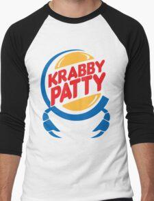 Krabby Patty Men's Baseball ¾ T-Shirt