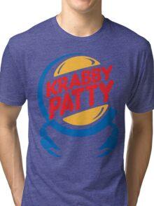 Krabby Patty Tri-blend T-Shirt
