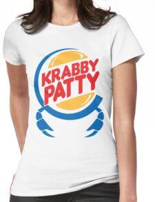 Krabby Patty Womens Fitted T-Shirt