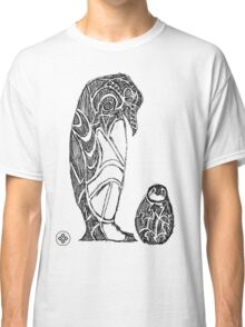 emperor penguin sketch Classic T-Shirt