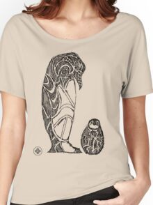 emperor penguin sketch Women's Relaxed Fit T-Shirt