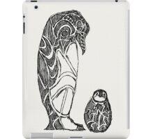 emperor penguin sketch iPad Case/Skin
