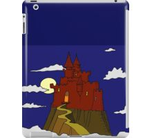 Magical castle in the clouds iPad Case/Skin