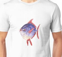 Blue and red moonfish Unisex T-Shirt