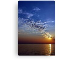 Serenity in the Sunset Canvas Print
