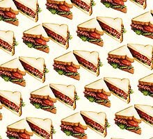 BLT Sandwich Pattern by Kelly  Gilleran