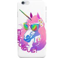 Fabulous Unicorn Princess iPhone Case/Skin