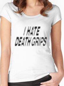 I HATE DEATH GRIPS Women's Fitted Scoop T-Shirt