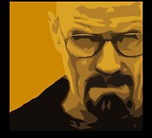 Walter White - Polygon Art by HiddenCorner