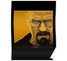 Walter White - Polygon Art Poster