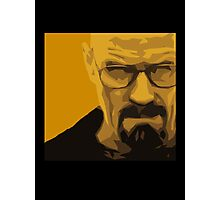 Walter White - Polygon Art Photographic Print