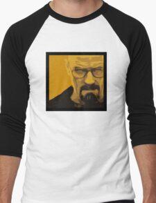 Walter White - Polygon Art Men's Baseball ¾ T-Shirt