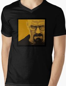 Walter White - Polygon Art Mens V-Neck T-Shirt