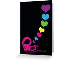 life.love.music Greeting Card