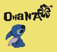 Stitch - Ohana Kids Clothes