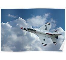 USAF Aerobatic Display Poster