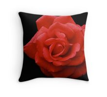 Lipstick Red Throw Pillow