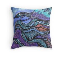 Ladder Dragon of the Soul Star Throw Pillow