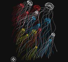 jellyfish sketch Unisex T-Shirt
