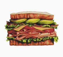 Turkey Bacon Avocado Sandwich Kids Clothes