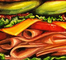 Turkey Bacon Avocado Sandwich by Kelly  Gilleran