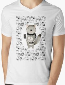 Wolf With Camera T-Shirt