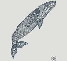 gray whale sketch Unisex T-Shirt