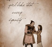Mulan inspired valentine. by topshelf