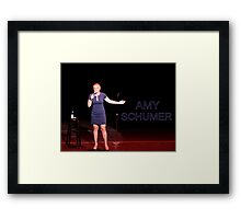 Amy Schumer Framed Print