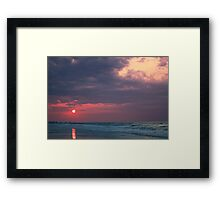 Warming Sunrise Framed Print