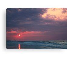 Warming Sunrise Canvas Print