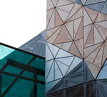 Federation Square by Rosina lamberti