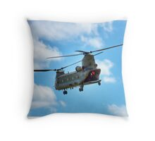 RAF Chinook HC2 Throw Pillow