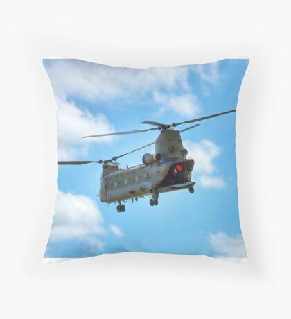 RAF Chinook HC2 Throw Pillow