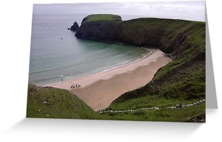 Silver Strand Beach  Nr. Teelin Co. Donegal Ireland by mikequigley