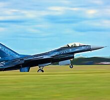 Lockheed Martin F-16AM Fighting Falcon by yeamanphoto