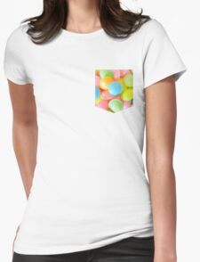 Flying Saucer Pocket Style Tee Womens Fitted T-Shirt