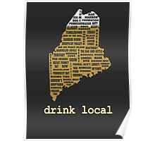 Drink Local (ME) Poster