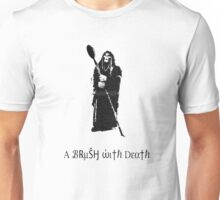 A Brush With Death Unisex T-Shirt