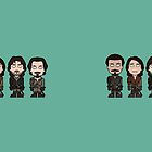 The Musketeers (mug) by redscharlach