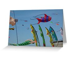 Redcliffe Kite Festival 3 Greeting Card