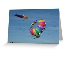 Redcliffe Kite Festival 1 Greeting Card