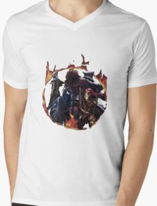 The 4 Knights Mens V-Neck T-Shirt