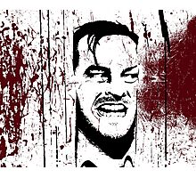 The Shining - Here's Johnny Photographic Print