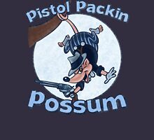 Pistol Packin Possum Unisex T-Shirt